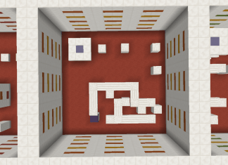 cubic parkour map