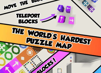 the worlds hardest puzzle map