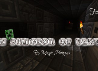 the dungeon of death map