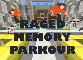 raged memory parkour map