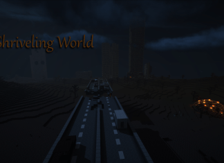shriveling world map
