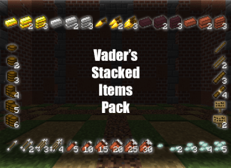 vaders stacked items resource pack