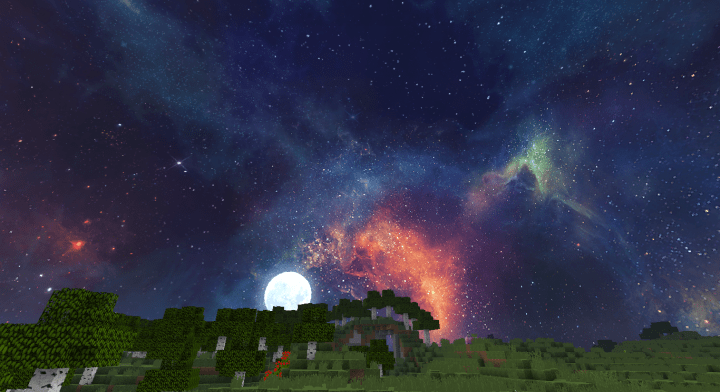 Crystal Galaxy Resource Pack For Minecraft 1 12 1 11 2 Minecraftsix