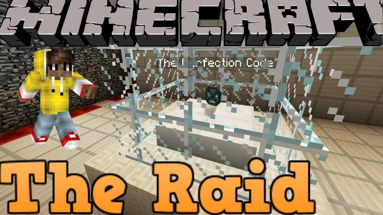 The Raid Map for Minecraft 1 11 2   MinecraftSix