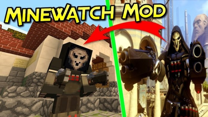 Minewatch Mod for Minecraft 1.12.2/1.11.2   MinecraftSix