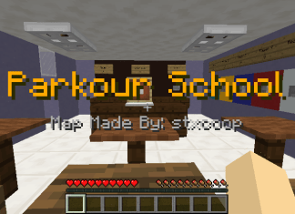 parkour highschool map