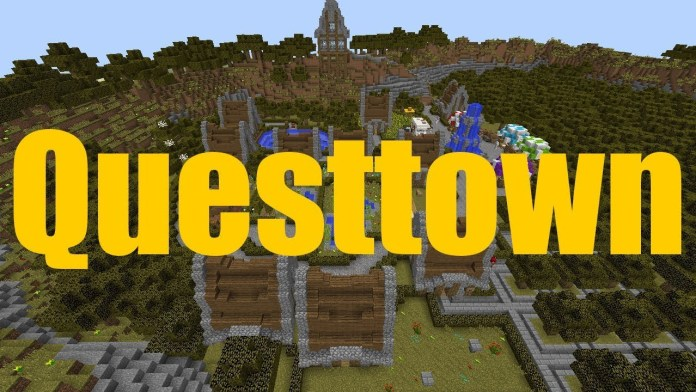 Questtown map for minecraft 1121 minecraftsix unlike a lot of modern day adventure maps the questtown map doesnt put that much emphasis into the plot in this map you get to play as a warrior whos gumiabroncs Gallery