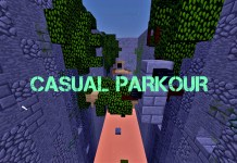 casual parkour map