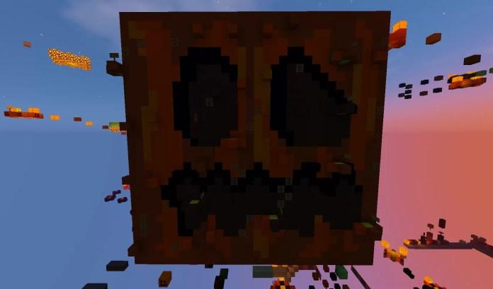 Stages Of Easy Halloween Parkour Map For Minecraft - Mapas para minecraft 1 10 2 de parkour
