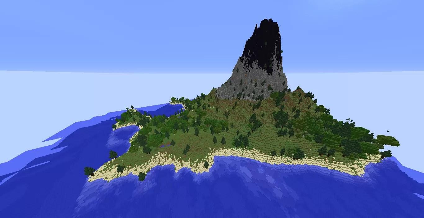 Volcano Survival Island Map for Minecraft 1.12.2 | MinecraftSix