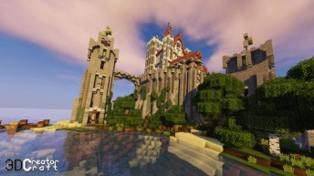 3D CreatorCraft Resource Pack for Minecraft 1 13 1/1 12 2