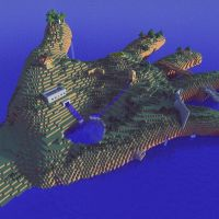 Minecraft Giant Hand Map