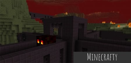 Скачать The Nether and the End Switched для Minecraft PE 1.0.0