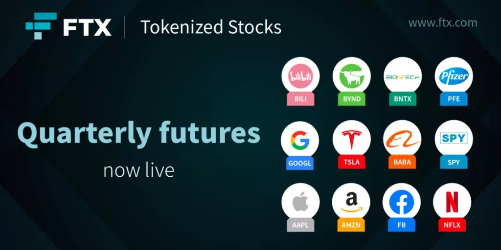 Trade tokenized stocks