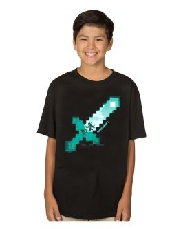 Minecraft Diamond Sword T-shirt