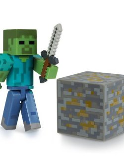 Minecraft Zombie Action Figur