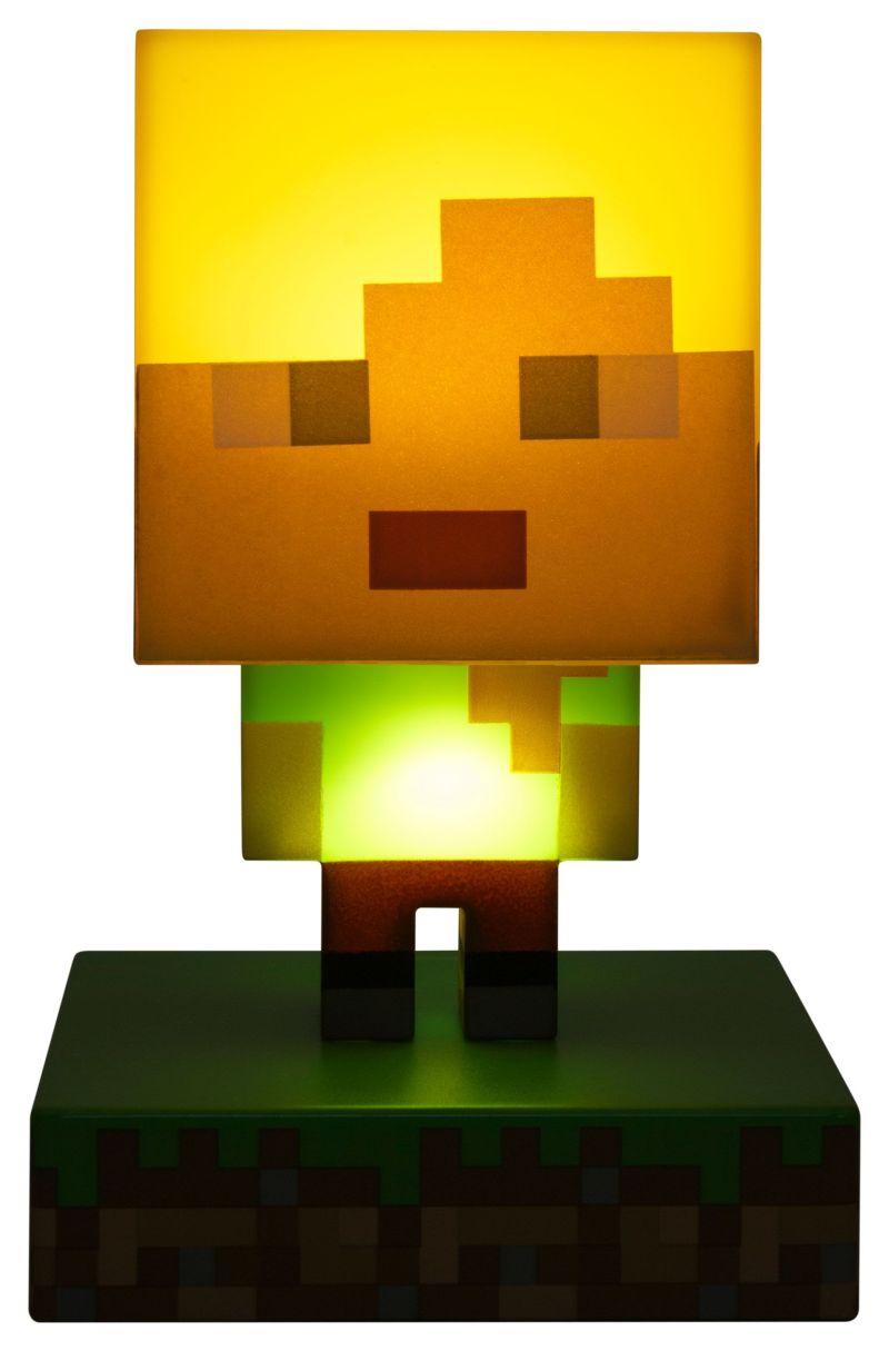 Minecraft Alex 3d bordlampe