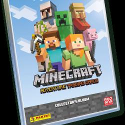 Minecraft Adventure Trading Card Binder