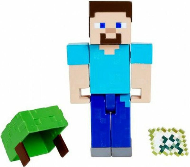 Minecraft Steve Underwater Figure