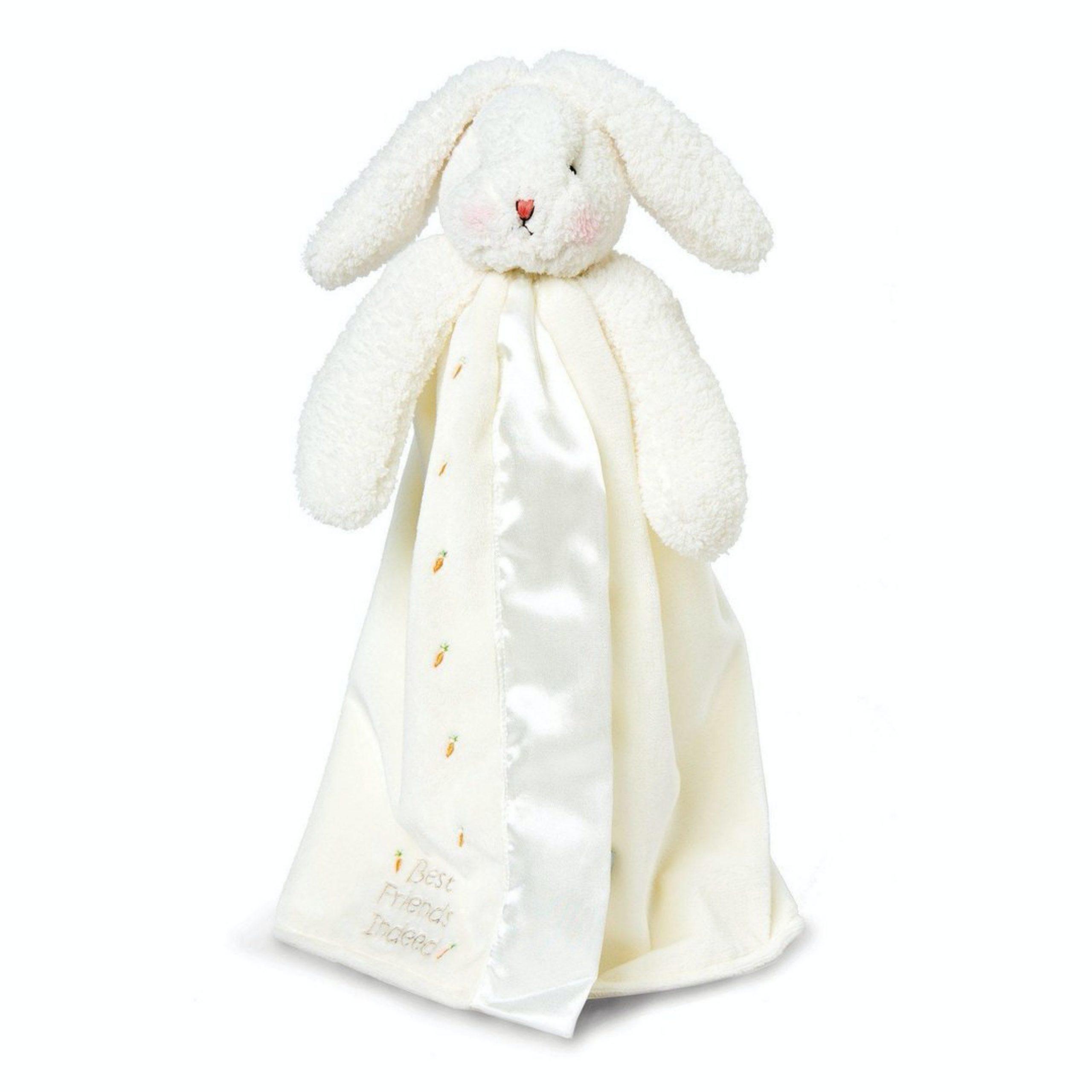 Bunnies By The Bay Bye Bye Buddy Blanket Blossom Bunny Pink