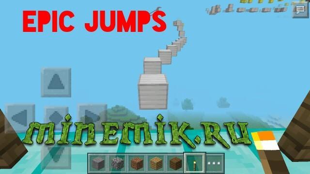 Sky - паркур для Minecraft PE