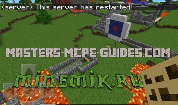 Карта с очень сложным паркуром для Minecraft PE