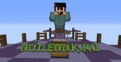 Карта с мини играми для Minecraft