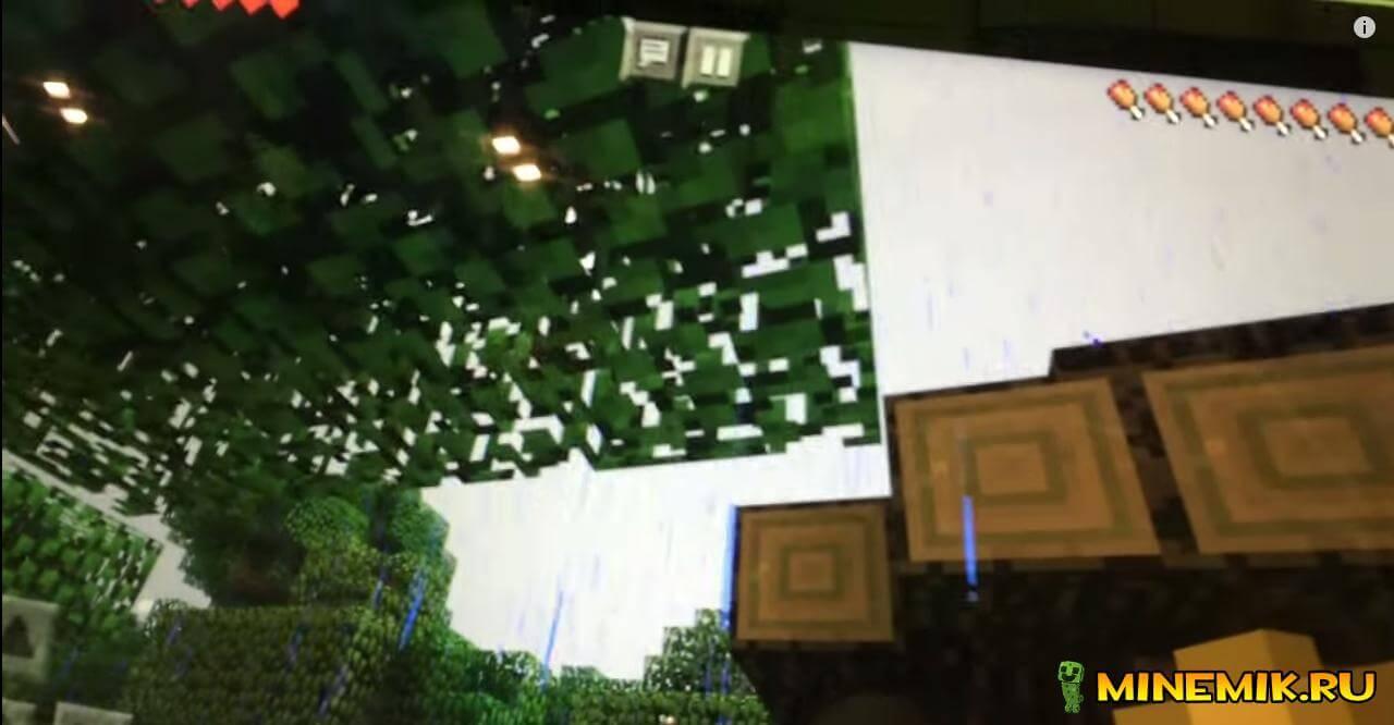 скриншот погоды в minecraft 0.12