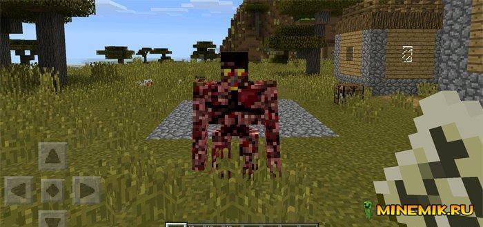 Golems — мод на големов для minecraft PE