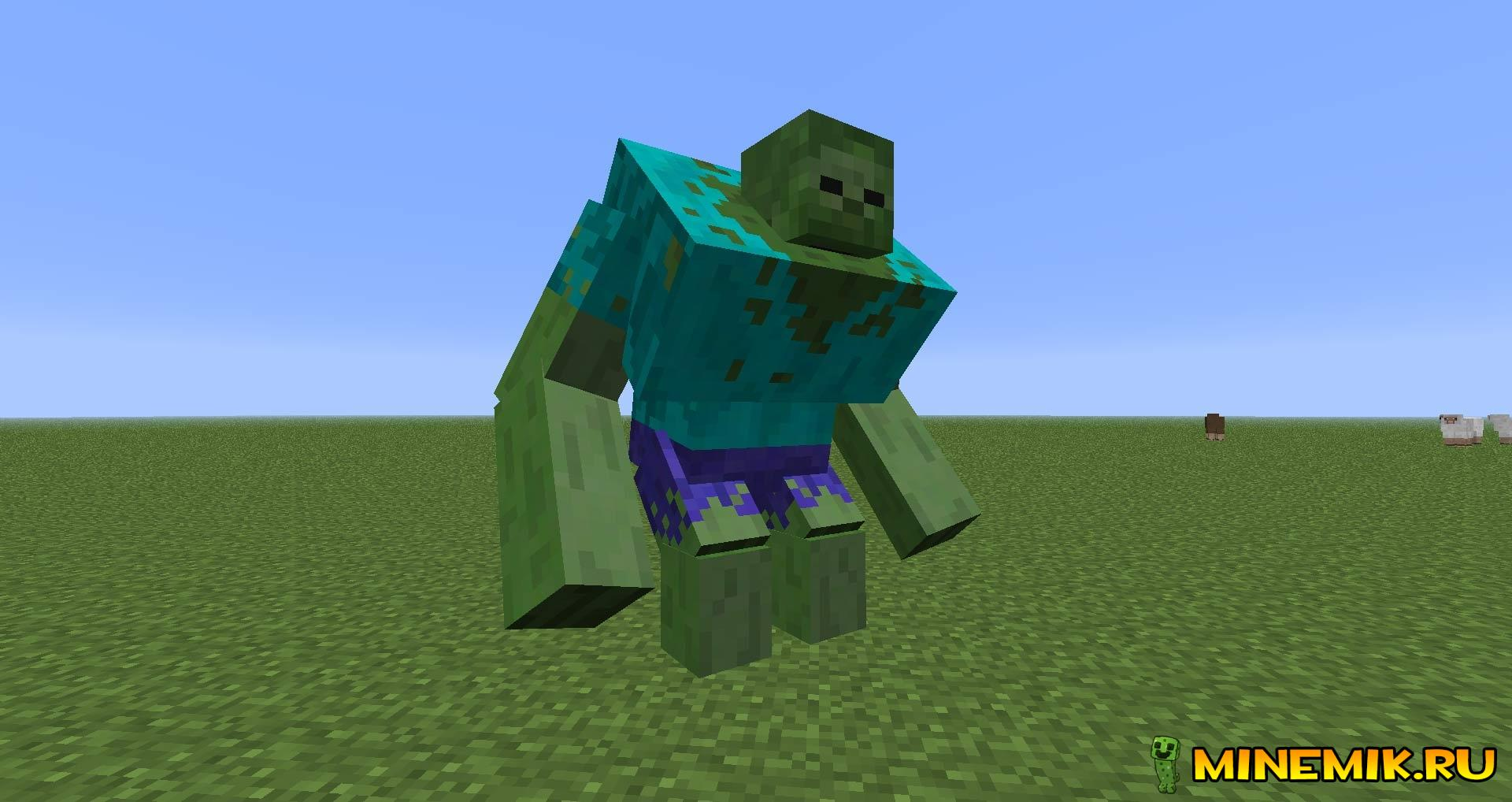 Мод Mutant Creatures Mod для minecraft PC