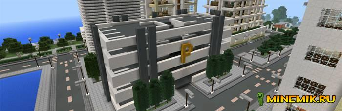Карта Imperial City для майнкрафт PE 0.13