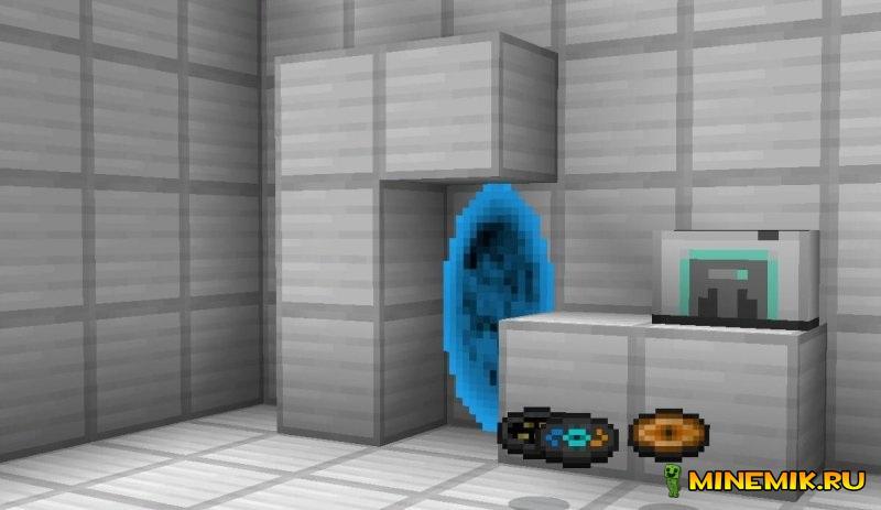 Portal 2 для Майнкрафт