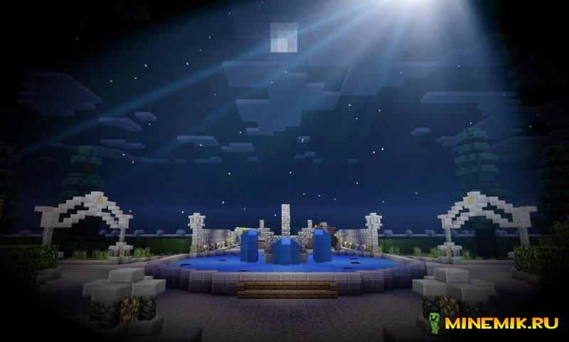 Карта замок для Майнкрафт