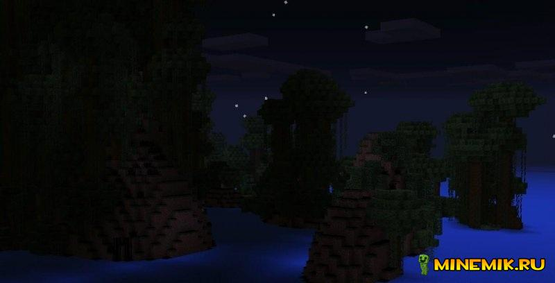 Карта Dark Robinson для minecraft PE