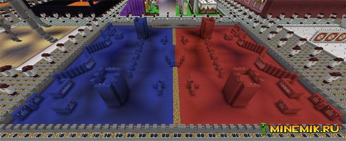"""Парк Развлечений """"Notchland"""" для Minecraft PE"""
