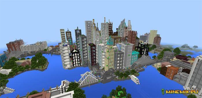 """Аддон """"Ядерное оружие"""" для Minecraft PE"""