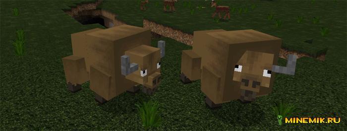 """Аддон-карта """"Большая охота"""" для Minecraft PE"""