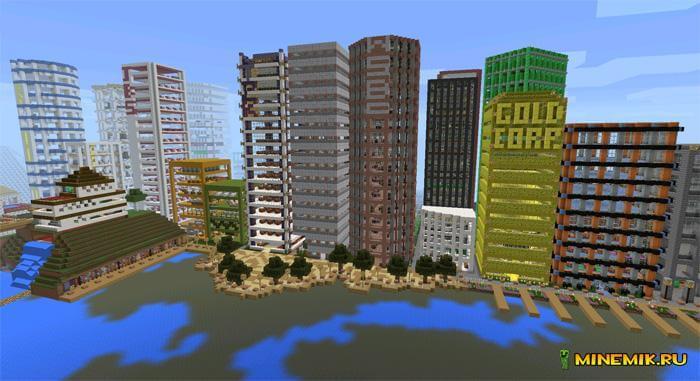 """Карта """"Egaland"""" для Minecraft PE"""