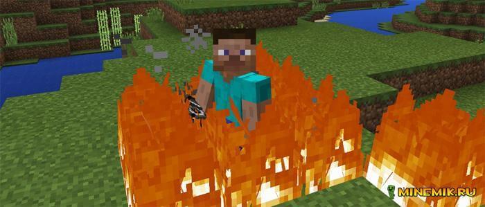 "Аддон ""Nether Caster"" для Minecraft PE"