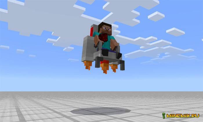 Аддон на редстоун мобов для Minecraft PE
