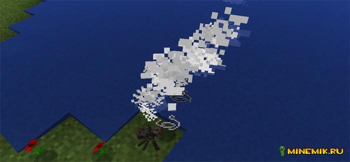 Аддон на уменьшение пауков для Minecraft PE