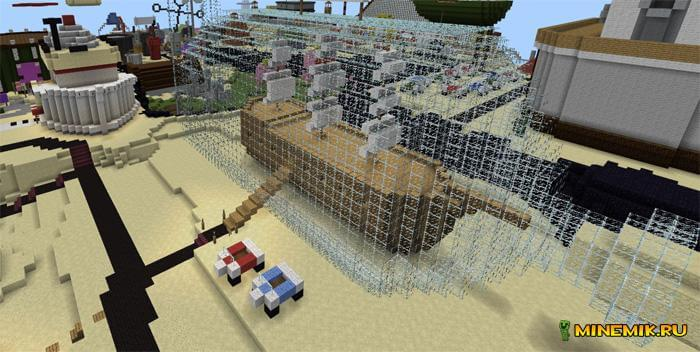 Карта Бикини Ботом для Minecraft PE