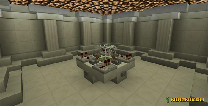 """Карта """"Тардис"""" для Minecraft PE"""