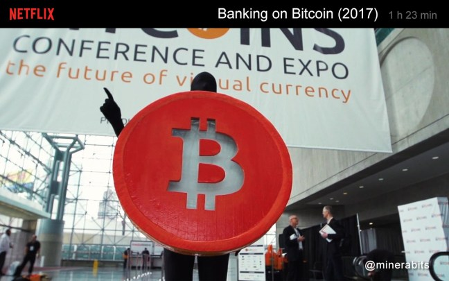 Documentário Netflix: Banco ou Bitcoin 2017