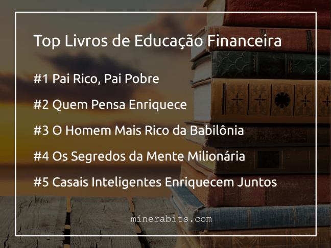 TOP livros de educação financeira