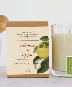 Oakmoss & Apple Botanical Candle