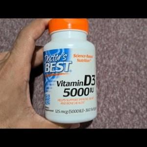 Doctor's Best Vitamin D3 supplement