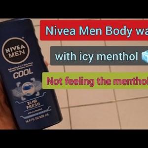 Nivea Men Body Wash Icy Cool 😎