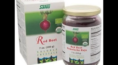 ORGANIC RED BEET CRYSTALS- One Scoop Daily Could Save Your LIFE!