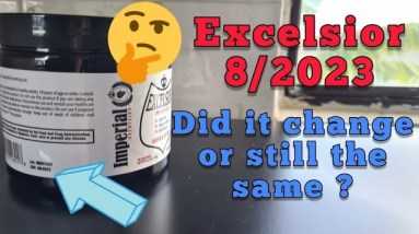 Excelsior pre-workout 8/2023 expiration : same as before or changed 🤔